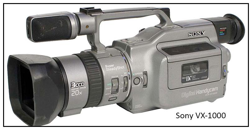 SonyVX1000xcorps