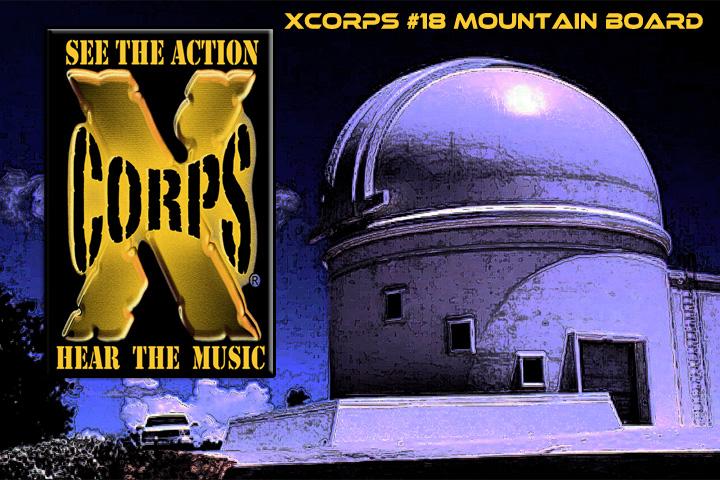 Xcorps18MtnBrdObservatoryPoster