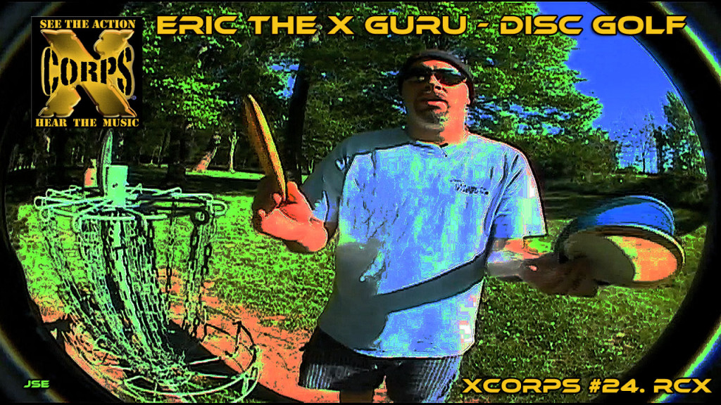 Xcorps24RCXdiscGOLFposter