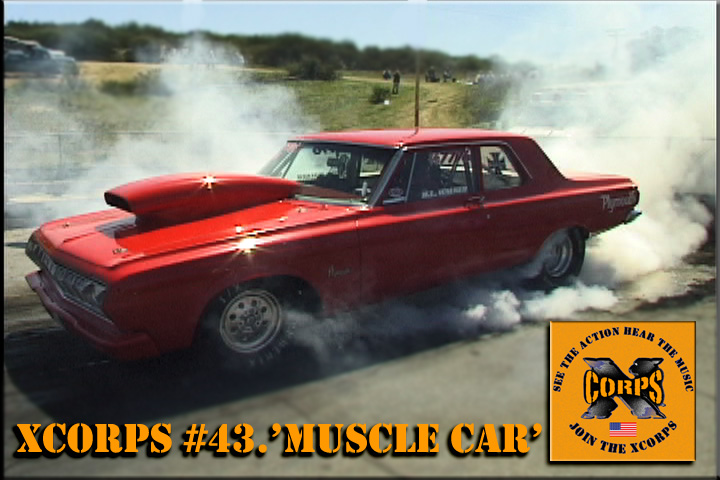 XcorpsMUSCLECARplymouthPOSTER
